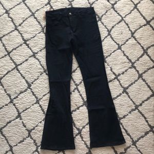Denim - New With Tags Black Flare Jeans